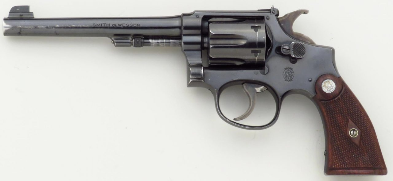 Smith & Wesson K-22 Outdoorsman 1st Model .22 LR, 649849, 6-inch, 5 ...