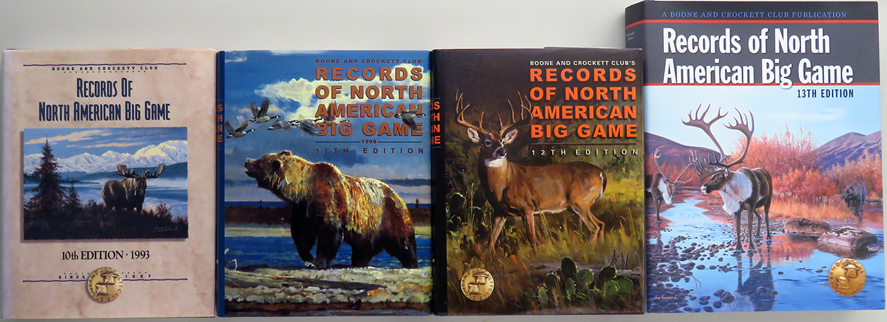 Boone and Crockett Club Records of North American Big Game