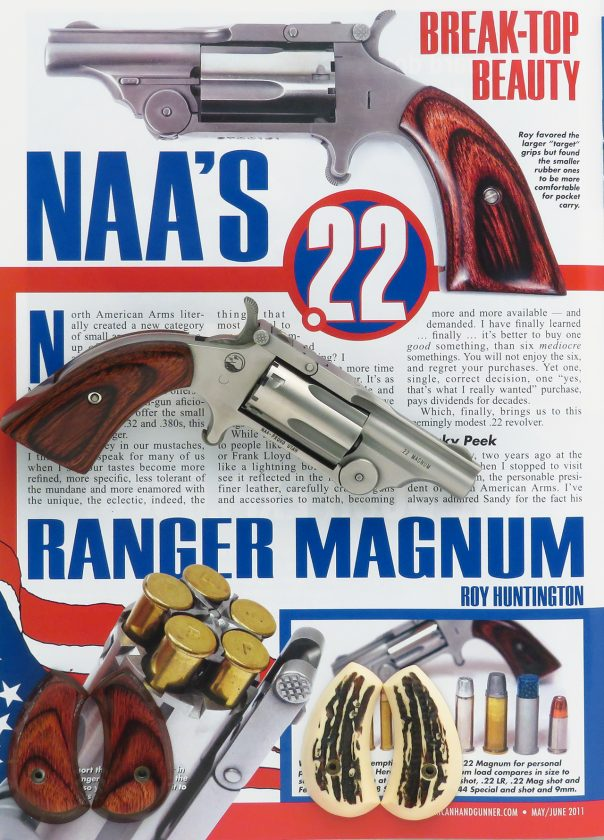 North American Arms Ranger  22 Magnum, featured in American